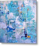 Blue Beacon Metal Print