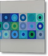 Blue By You Metal Print