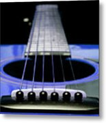 Blue Guitar 14 Metal Print