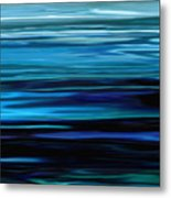 Blue Horrizon Metal Print