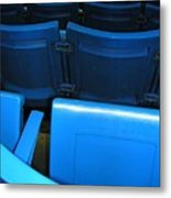 Blue Jay Seats Metal Print