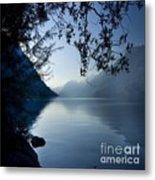 Blue Lake Metal Print