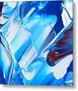 blue mode I Metal Print