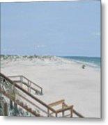 Blue Mountain Beach II Metal Print