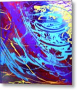Blue Reverie Metal Print