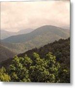 Blue Ridge Overlook Metal Print