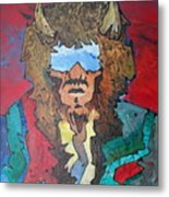 Blue Sky Mind That Alights My Soul Metal Print