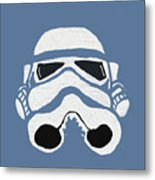Blue Trooper Metal Print by Jera Sky