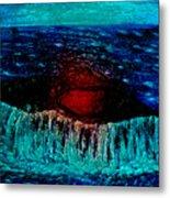 Blue Whale 2 Metal Print