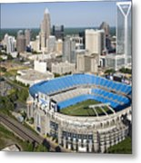Boa Stadium In Charlotte Metal Print by Clear Sky Images