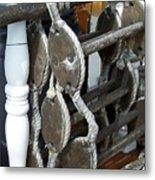 Boarding Ladder Metal Print