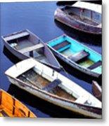 Boat Dock Camp Ellis Metal Print