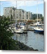 Boat Docks Metal Print