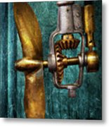 Boat - Propulsion  Metal Print by Mike Savad