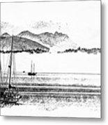 Boats Afloat Metal Print