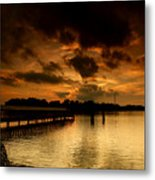 Boblo Dock Metal Print