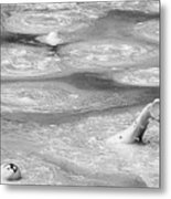 Boiling Mudpot - Artist' Paint Pots Yellowstone National Park Wy Usa Metal Print