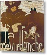 Bonnard Revue 1894 Metal Print
