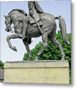 Bonnie Prince Charlie Statue - Derby Metal Print