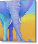 Born Of Wisdom Metal Print by Tracy L Teeter