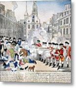 Boston Massacre, 1770 Metal Print