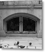 Boston Scene Metal Print