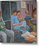 Boston Subway Metal Print