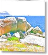 Boulders 4 Metal Print by Jan Hattingh