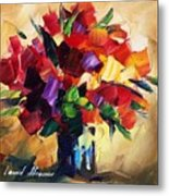 Bouquet For Sweeheart Metal Print