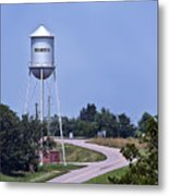 Bourbon Mo Tower Metal Print