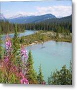 Bow River Banff National Park Canada Metal Print