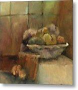 Bowl Of Fruit Metal Print by M Allison