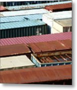 Boxed In Metal Print