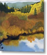 Bragg Creek Metal Print