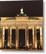 Brandenburg Gate Metal Print