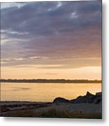 Brant Point Dawn - Nantucket Metal Print