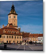 Brasov Council Square Metal Print