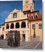 Brasov Town Hall Metal Print