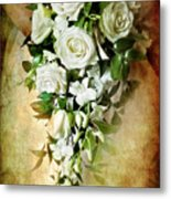 Bridal Bouquet Metal Print by Meirion Matthias
