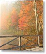 Bridge At Chocorua Lake Metal Print