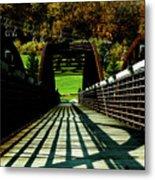 Bridge At Killington Metal Print