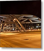 Bridge At Night Metal Print