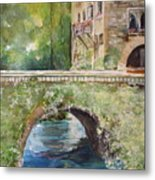 Bridge In Spain Metal Print
