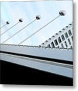 Bridge Over The Danube Metal Print
