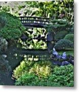 Bridge Over Tranquil Waters Metal Print