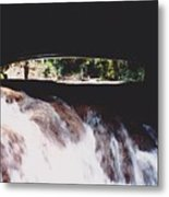Bridge Over Water Metal Print
