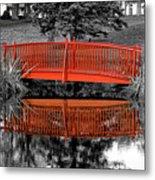 Bridge The Gap Metal Print
