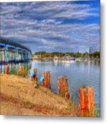 Bridge To Cobb Island Metal Print