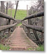 Bridge To E Metal Print