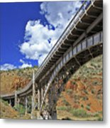 Bridge To Yesteryear Metal Print